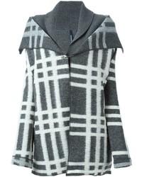 Manteau écossais gris Woolrich