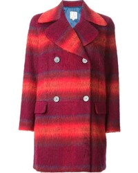 Manteau écossais rouge