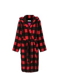 Manteau écossais rouge Golden Goose Deluxe Brand