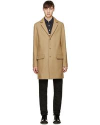 Manteau en laine marron clair A.P.C.