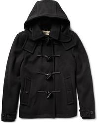 Manteau en laine noir Burberry