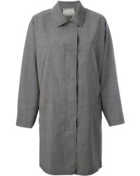 Manteau en mohair gris Lanvin
