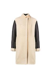 Manteau en peau de mouton retournée beige 3.1 Phillip Lim