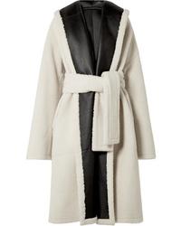 Manteau en peau de mouton retournée blanc Rosetta Getty