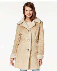 Manteau en peau de mouton retournée brun clair MICHAEL Michael Kors