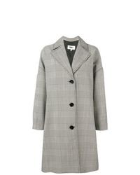 Manteau en pied-de-poule gris MM6 MAISON MARGIELA