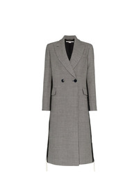Manteau en pied-de-poule gris Stella McCartney