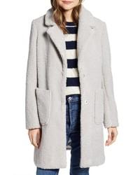 Manteau en polaire gris