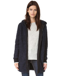 Manteau en tricot bleu marine Rag & Bone