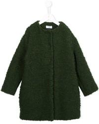 Manteau en tricot vert foncé MonnaLisa