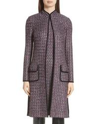 Manteau en tweed gris foncé