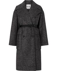 Manteau en tweed noir Kenzo