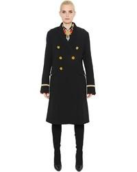 Manteau en velours noir