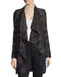 Manteau géométrique gris BA&SH