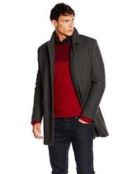 Manteau gris foncé Boss Orange