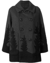 Manteau gris foncé Dsquared2