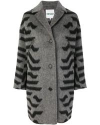 Manteau gris foncé Kenzo