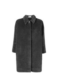 Manteau gris foncé Lanvin