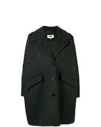 Manteau gris foncé MM6 MAISON MARGIELA