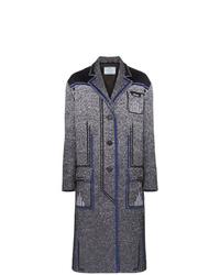 Manteau gris foncé Prada