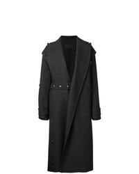 Manteau gris foncé Proenza Schouler