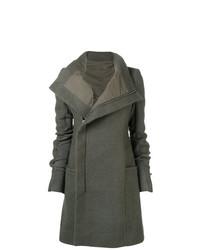 Manteau gris foncé Rick Owens
