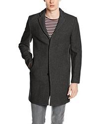 Manteau gris foncé Selected