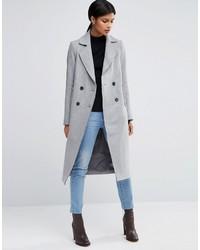 Manteau gris Asos