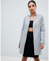Manteau gris Missguided