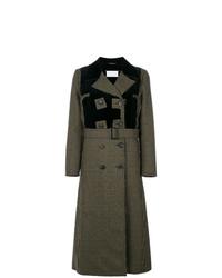 Manteau imprimé gris foncé Maison Margiela