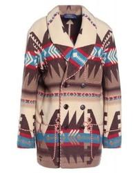 Manteau imprimé multicolore Ralph Lauren