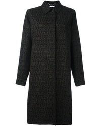 Manteau imprimé noir Givenchy