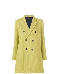Manteau jaune A.P.C.