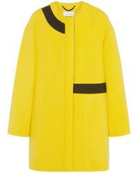 Manteau jaune Kenzo