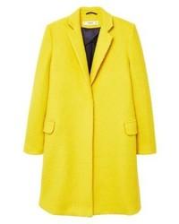 Manteau jaune Mango