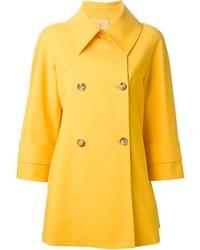Manteau jaune Michael Kors