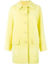 Manteau jaune Moschino