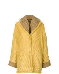 Manteau jaune Romeo Gigli Vintage