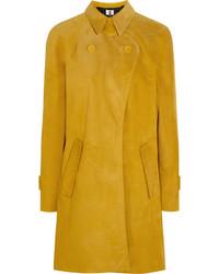 Manteau jaune Topshop