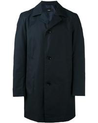 Manteau léger bleu marine Hugo Boss