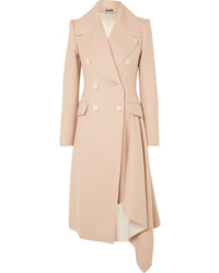 Manteau marron clair Alexander McQueen