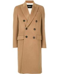 Manteau marron clair Dsquared2