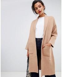 Manteau marron clair Mango