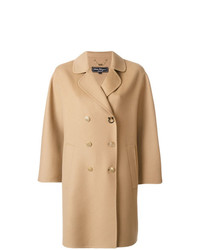 Manteau marron clair Salvatore Ferragamo