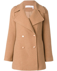 Manteau marron clair See by Chloe
