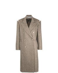 Manteau marron Maison Margiela