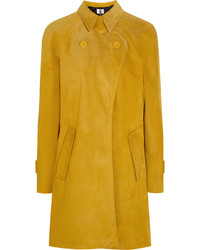 Manteau moutarde Topshop
