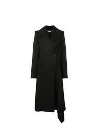 Manteau noir Alexander McQueen