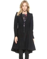 Manteau noir Alice + Olivia