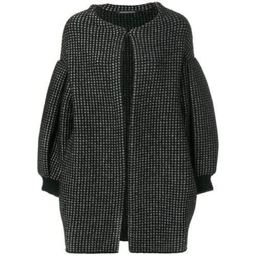 Manteau noir Antonino Valenti